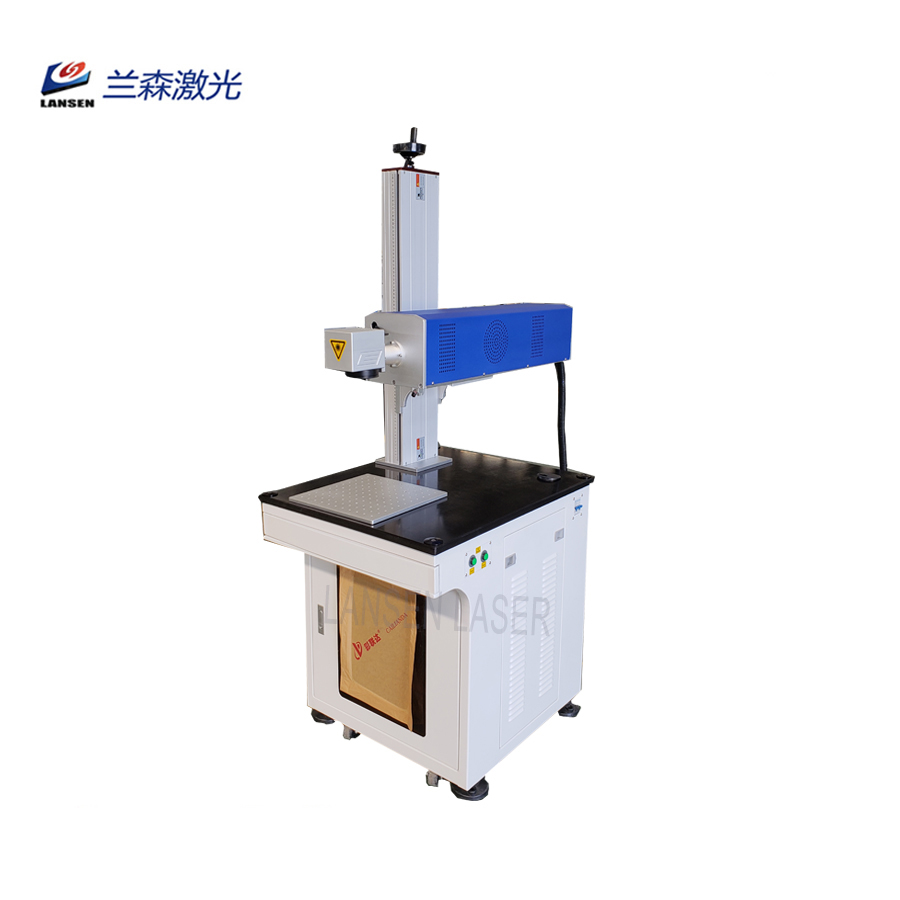 70W RF Laser Marking machine used for nonmetal cutting work