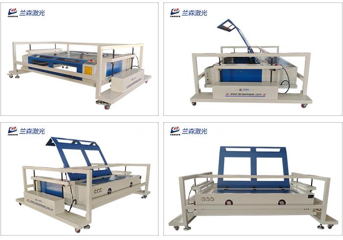 Lansen laser:New design stone laser engraving machine