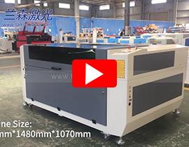 Printed Acrylic Label CCD Camera Laser Cutting Machine LN1610