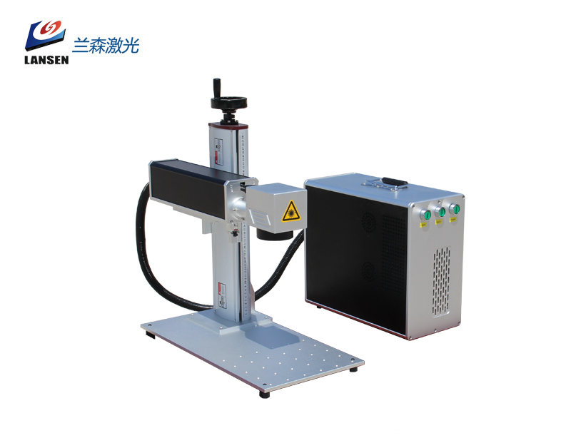 Mini Mopa Fiber Laser Marking machine for color marking