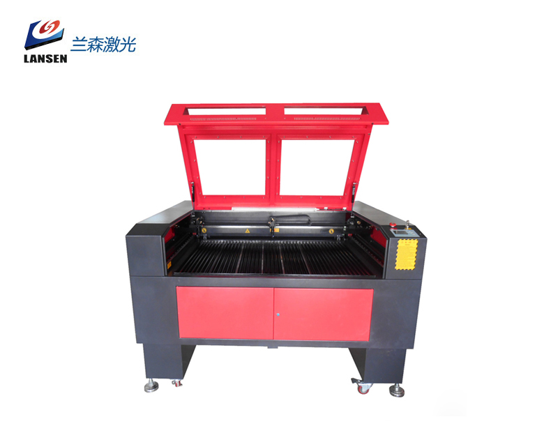 LP-C1290T Dual Heads Laser Engraving Cutting machine