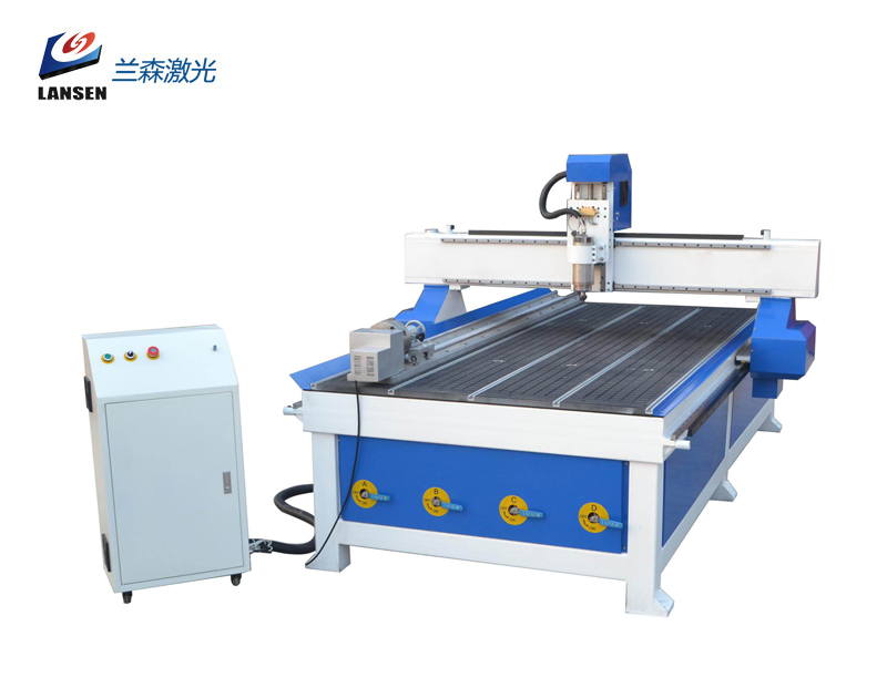 LSR1325 CNC Router with Rotary