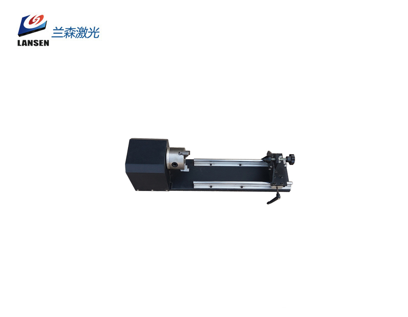 Rotary attachment with chuck for Laser Engraving machine