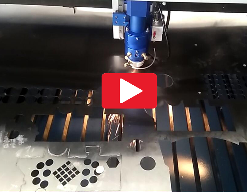 Metal Co2 Laser Cutting on SS