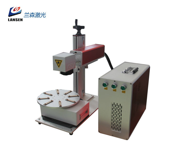Mini Disk Fiber Laser Marking machine