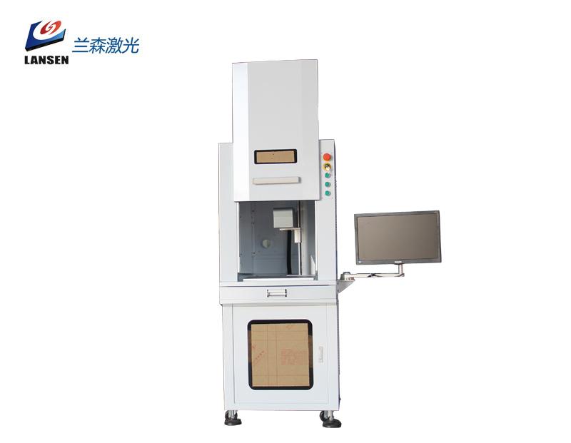 Cabinet 3D Fiber Laser Marking machine