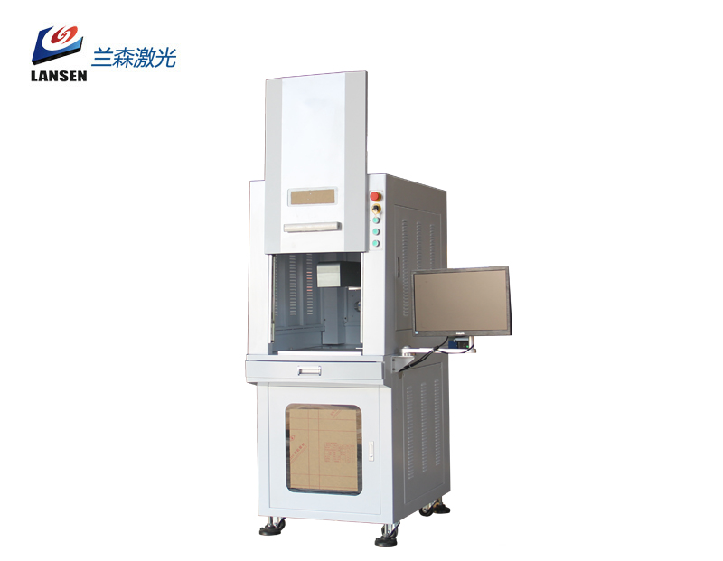 Cabinet 3D Dynamic Fiber Laser Marking machine