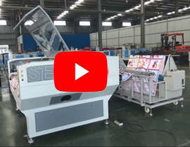 Auto Feeding LP-C1610 Laser Cutting machine with correcting function