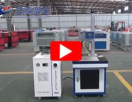 RF Laser Marking machine with 100W Cherent laser tube