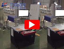 20W 30W co2 RF tube laser marker on MDF