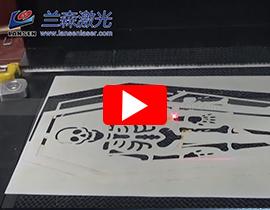 Card Cutting by RF dynamic Laser marking machine
