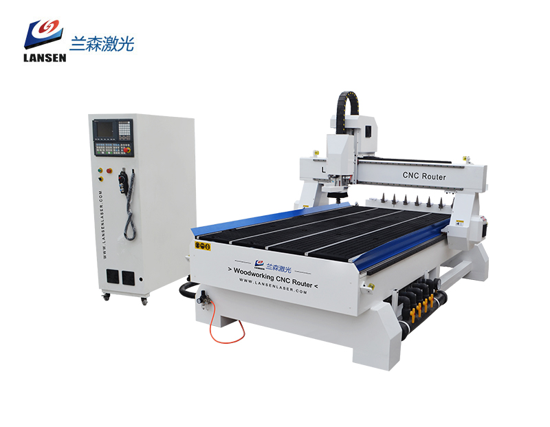 Oscillating Tangential Knife CNC Router