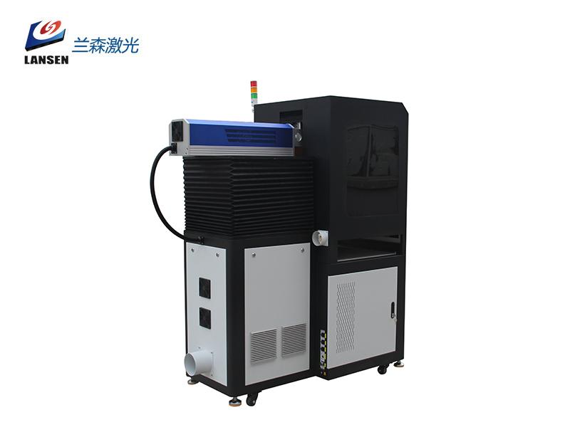 Closed Dynamic Large Formet RF Laser Marking machine