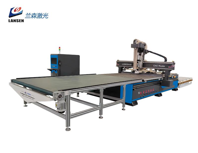 New Cloth Cutting Machine 2030 Automatic Feeding CNC Machine