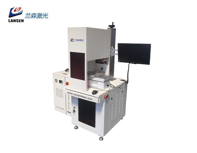 Enclosed Co2 Laser Marking Machine with 100W Coherent