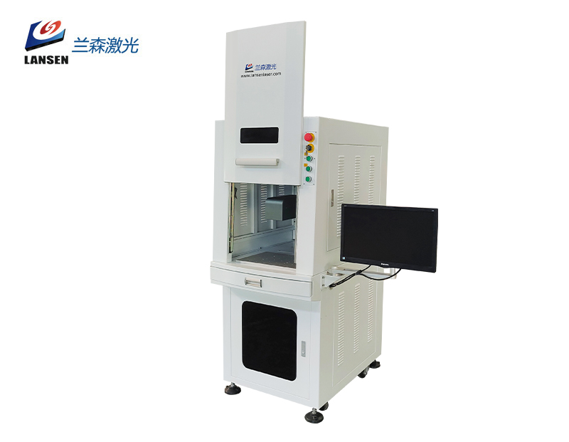 Cabinet 3D Dynamic Fiber Laser Marking machine